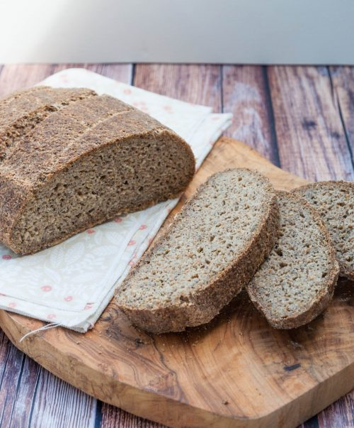 Belles tranches de pain sans gluten